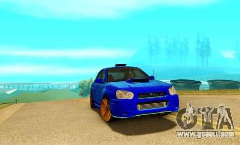 Subaru Impreza WRX STI Spec-C for GTA San Andreas left view
