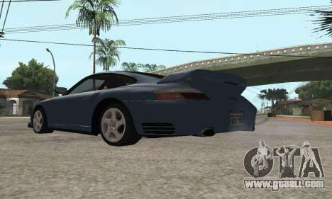 Porsche 911 GT2 for GTA San Andreas back left view
