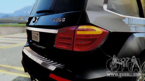 Brabus B63S for GTA San Andreas bottom view