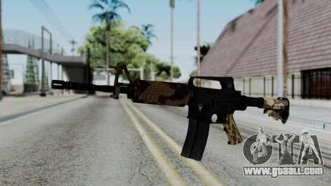 M16 A2 Carbine M727 v2 for GTA San Andreas