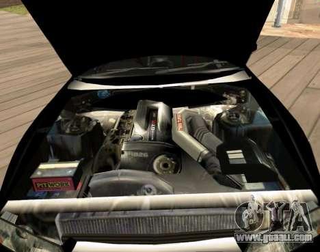 Nissan Skyline GT-R BNR32 Initial D Legend 2 N.K for GTA San Andreas right view