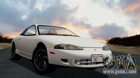 Mitsubishi Eclipse GST 1995 for GTA San Andreas left view
