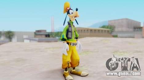 Kingdom Hearts 2 Goofy Default for GTA San Andreas second screenshot
