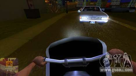 The first person v3.0 for GTA San Andreas third screenshot