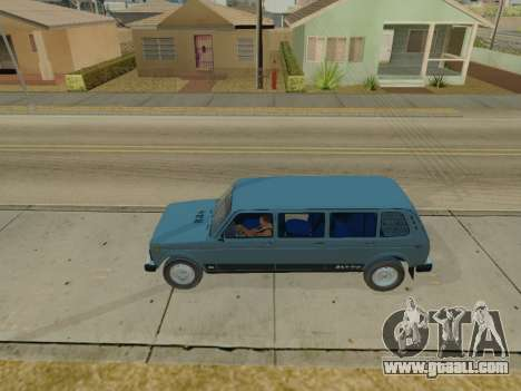 ВАЗ 2131 7-door [HQ Version] for GTA San Andreas left view