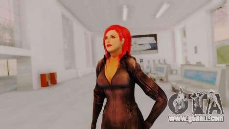 Scarlet Johansson - Black Widow for GTA San Andreas