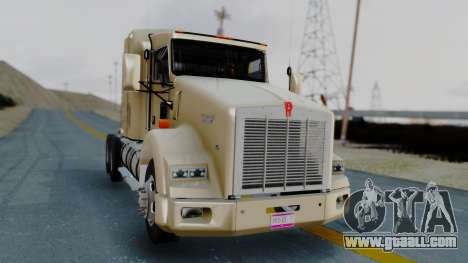 Kenworth T800 38s Flat Top for GTA San Andreas right view