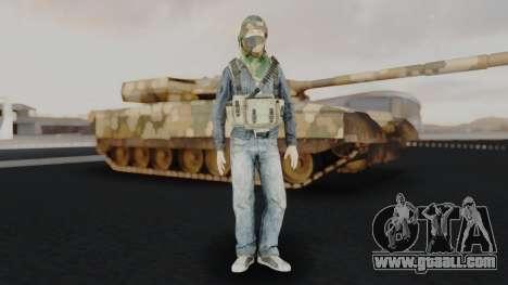 Somalia Militia Woodland Camo for GTA San Andreas second screenshot