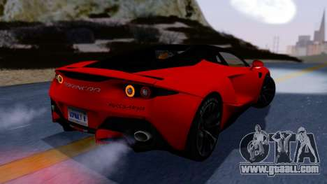 Arrinera Hussarya v2 Carbon for GTA San Andreas left view