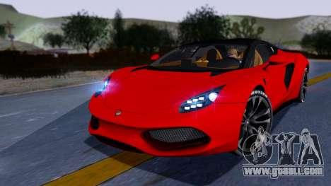 Arrinera Hussarya v2 Carbon for GTA San Andreas