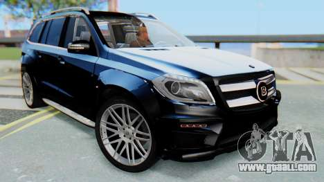 Brabus B63S for GTA San Andreas right view