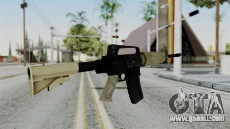 M16 A2 Carbine M727 v3 for GTA San Andreas second screenshot