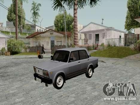 Ваз 21074 Beige Beauty v2 for GTA San Andreas