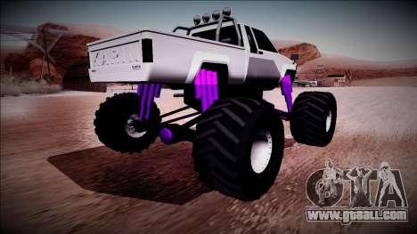 GTA 5 Karin Rebel Monster Truck for GTA San Andreas left view