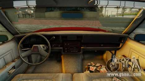 Chevrolet Impala 1984 for GTA San Andreas back view