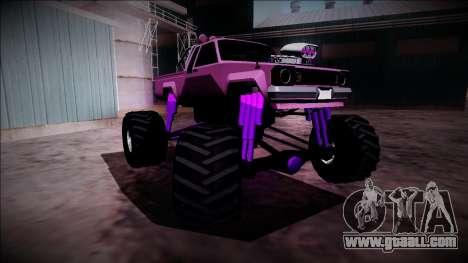 GTA 5 Karin Rebel Monster Truck for GTA San Andreas upper view