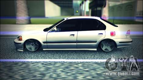 Honda Civic by Snebes for GTA San Andreas left view
