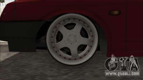 VAZ 2108 DropMode for GTA San Andreas inner view