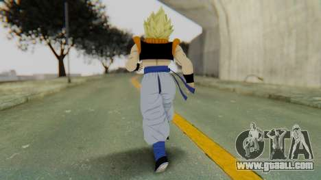 DBZBT3 - Gogeta SSJ for GTA San Andreas third screenshot