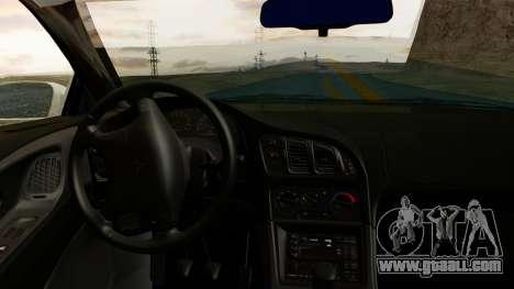 Mitsubishi Eclipse GST 1995 for GTA San Andreas right view