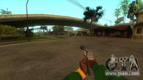 The first person v3.0 for GTA San Andreas ninth screenshot