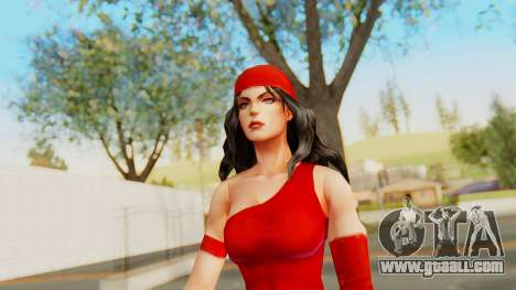 Marvel Future Fight - Elektra for GTA San Andreas
