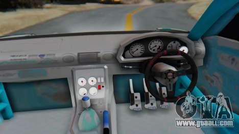 Nissan Silvia s15 Itasha [EDE-Crew] for GTA San Andreas back view