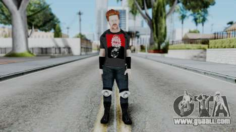 Sheamus Casual for GTA San Andreas second screenshot