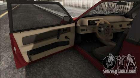 VAZ 2108 DropMode for GTA San Andreas side view