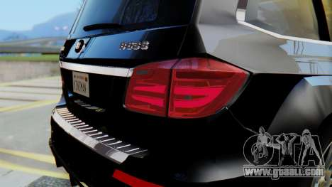 Brabus B63S for GTA San Andreas engine