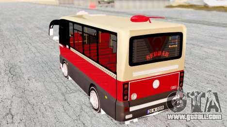 Otokar Magirus M2000 26M0009 for GTA San Andreas back left view