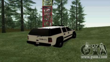 Chevrolet Suburban Offroad Final Version for GTA San Andreas back left view