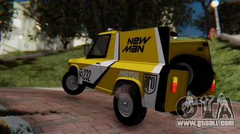 Aro 242 - Dakar 1985 for GTA San Andreas left view