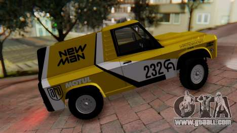 Aro 242 - Dakar 1985 for GTA San Andreas back left view