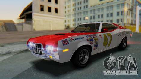 Ford Gran Torino Sport SportsRoof (63R) 1972 PJ2 for GTA San Andreas interior