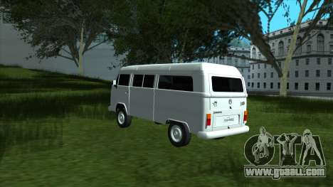 Volkswagen Kombi 2004 for GTA San Andreas back left view