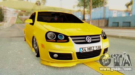 Volkswagen Jetta for GTA San Andreas right view