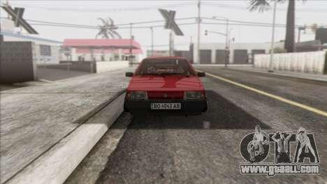 VAZ 2108 DropMode for GTA San Andreas back view