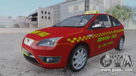 Ford Focus ST Taxi for GTA San Andreas right view