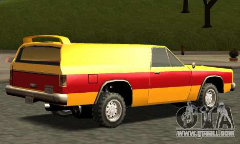 Picador Vagon Extreme for GTA San Andreas side view