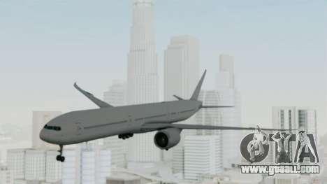 Boeing 777-9x Paintkit for GTA San Andreas back left view