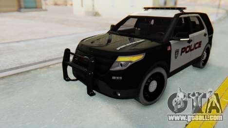Ford Explorer Police for GTA San Andreas right view