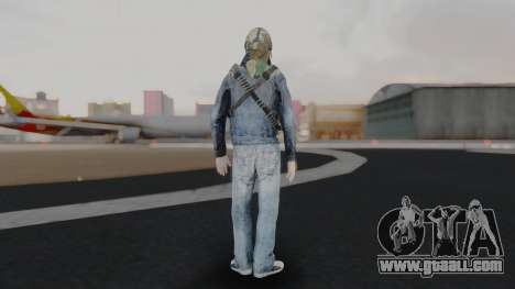 Somalia Militia Woodland Camo for GTA San Andreas third screenshot