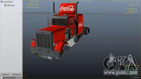 GTA 5 Coca Cola Truck v1.1 right side view