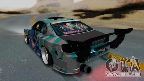 Nissan Silvia s15 Itasha [EDE-Crew] for GTA San Andreas left view