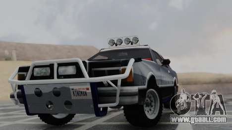 Virgo v1.0 for GTA San Andreas back left view