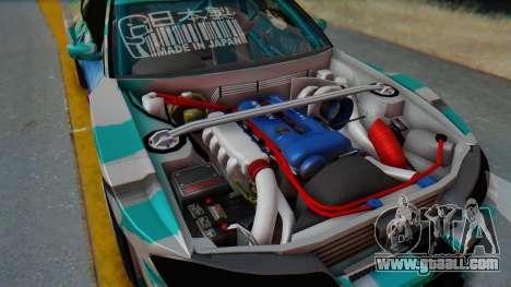 Nissan Silvia s15 Itasha [EDE-Crew] for GTA San Andreas right view