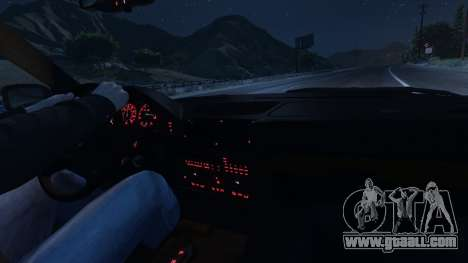 GTA 5 BMW 535i E34 wheel