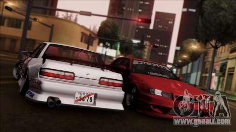 Nissan Skyline ER-34 for GTA San Andreas back left view