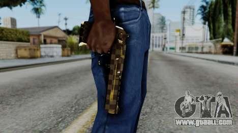 Deagle Louis Vuitton Version for GTA San Andreas third screenshot